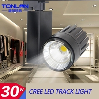 promotion !!! high power move head led track light 40w 50w