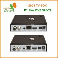 Hot in the market three-in-0ne K1 Plus T2 S2 K1 Dvb S2 T2 K1 Plus Android 5.1 TV box