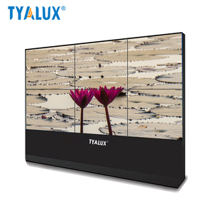 46 inch stand display video wall monitor screen systems