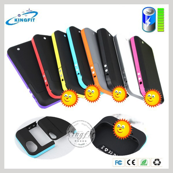 China Factory Rechargeable Battery Case for Iphone 5 for Iphone 5S Case
