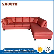 New model furniture living room modular modern leather sofa set
