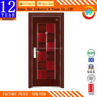 New Steel Door Design Multi Lock/Unique Home Designs Security Doors/Metal Grill Door