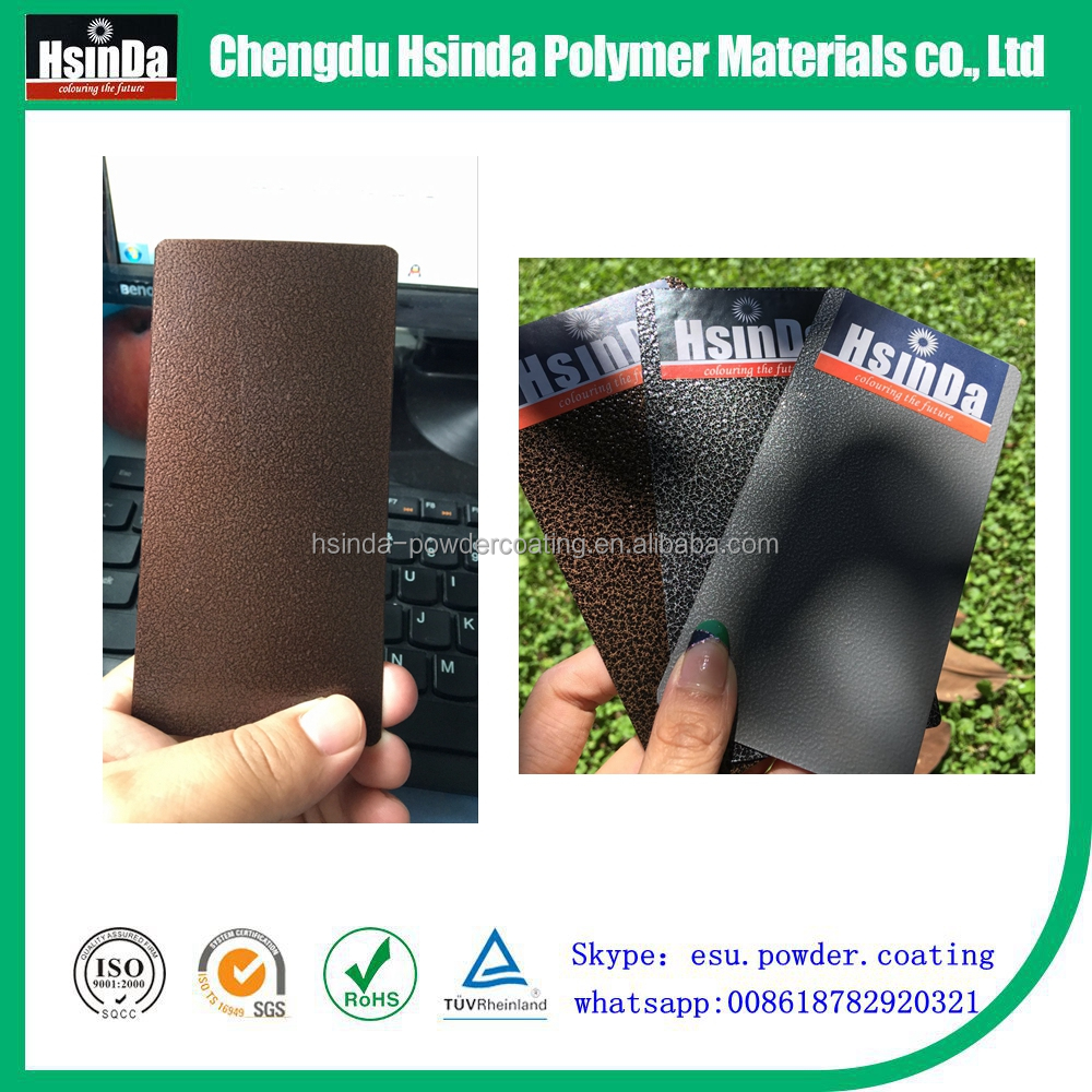 copper crackle curing oven powder coating powder for metal