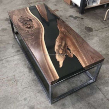 Top Glass Epoxy Resin Wood <strong>Table</strong> And Coffee <strong>Table</strong>