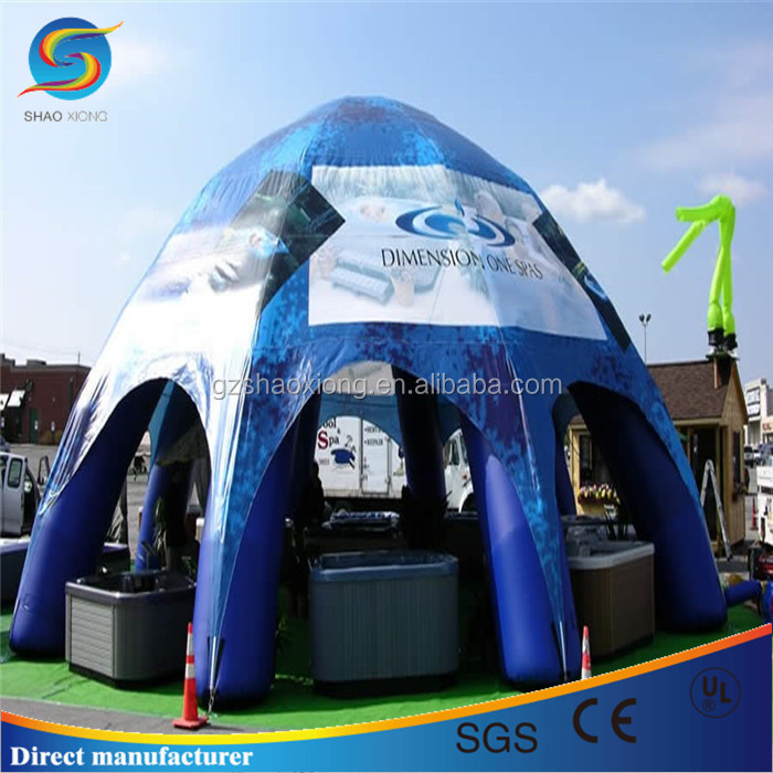 Commercial Blow Up Marquees, Blow Up Tents, Inflatable Spider Dome