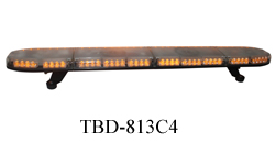 Automatic parts slim led warning lightbar for fire truck vehicles TBD 516C4