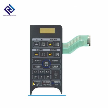Microwave Oven Tactile Membrane Switch Keypad/Keyboard