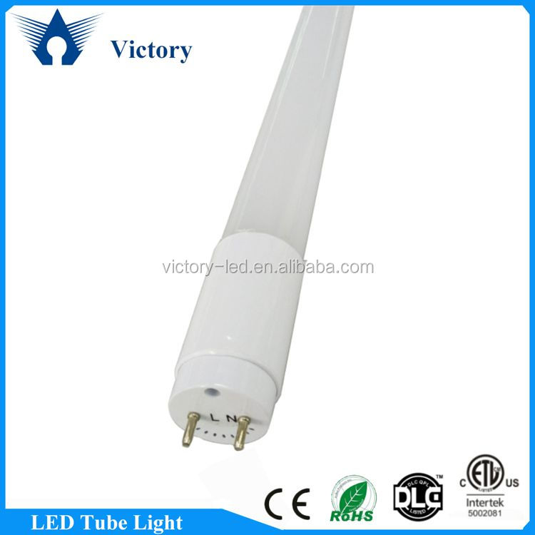 ETL Rohs hot sale free pom chinese tube8 led light tueb 18w 6500K clear and milky cover