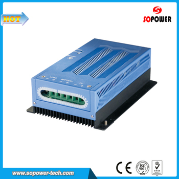 MPPT PV Solar Charge Controller 12V 24V 48V Auto Recogution 40A with Battery Temperature Sensor (Optional)