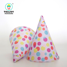 High quality food grade colorful dots paper ice cream cone