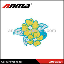 Flower funny paper aromatic air freshener wholesale professional factory