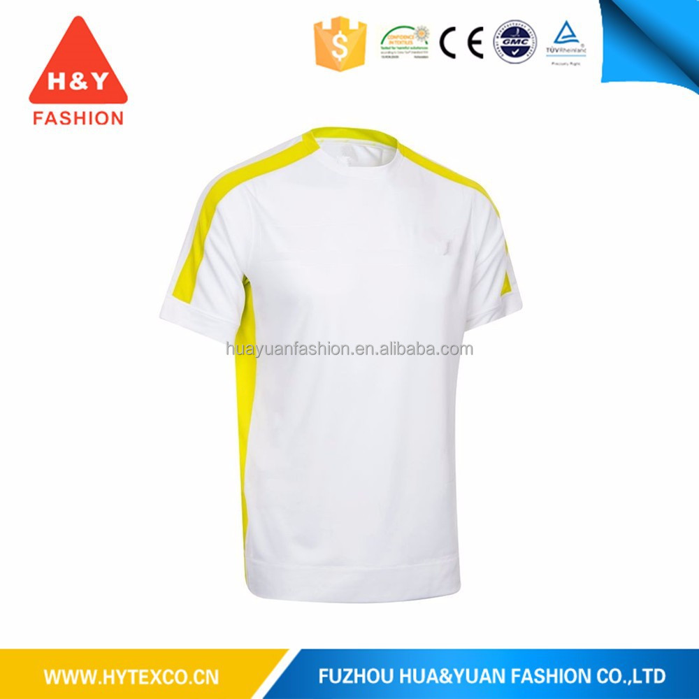 Fashion sublimation plain no brand round neck t-shirt