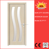 Plastic door frame covering