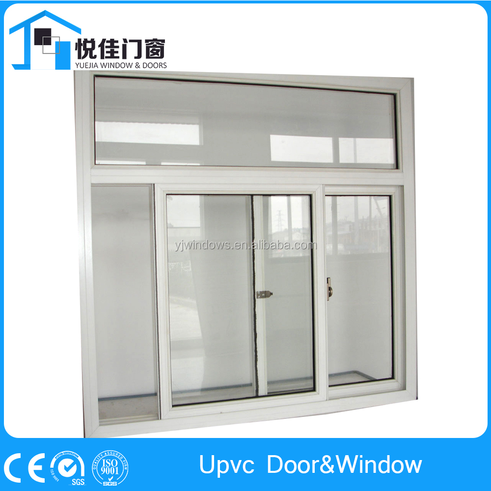 Best selling upvc sliding window cost upvc french windows exterior