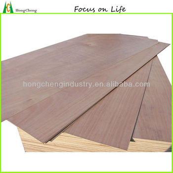 3.2mm commercial plywood with Okoume face
