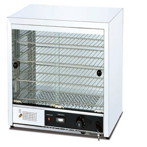 Restaurant equipment in china stainless steel hot food display showcase with cabinet (OT-805)