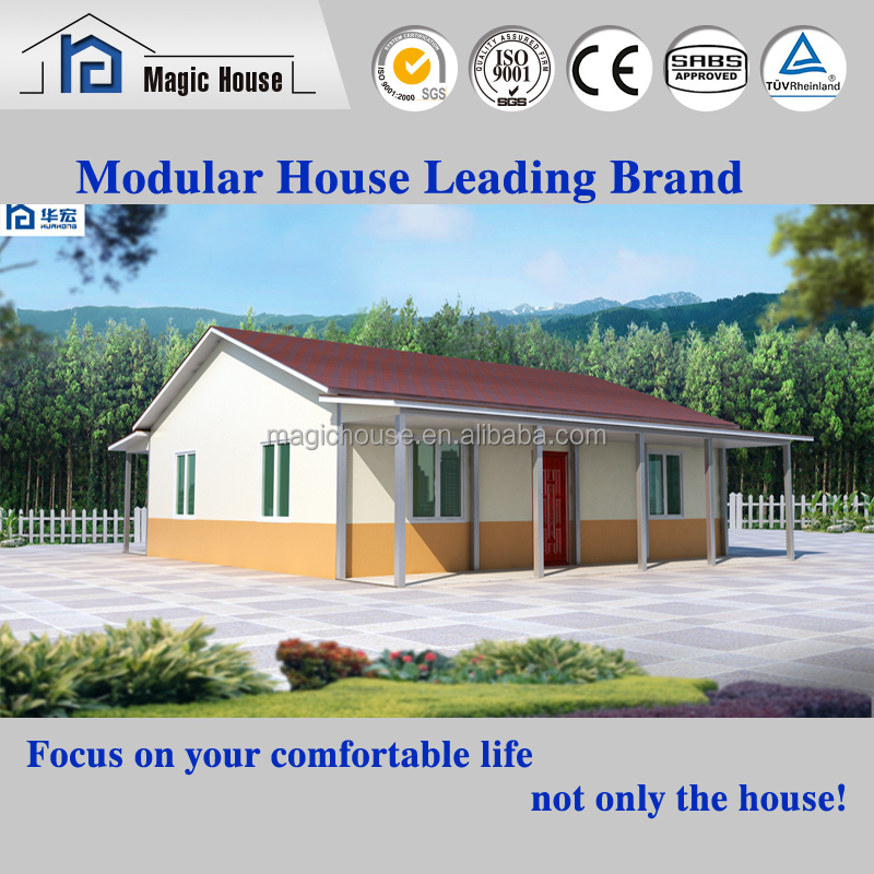 Exporting new design luxury prefab steel ready made house in india