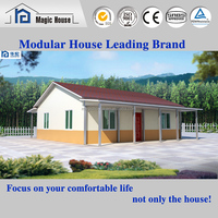 Exporting new design luxury prefab steelready made house in india