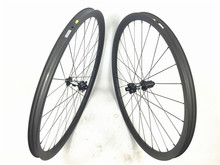 Tubeless ready 700C full carbon mountain bike wheels 30mmx30mm 29er MTB carbon fiber clincher wheelset with DT350S Disc hub