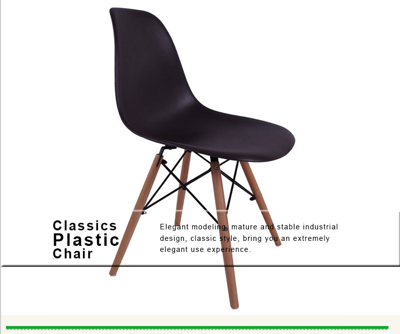 Plastic Chair Cheap Dining Chair Thick High Kitchen Armless Plastic Coffee Shop Modern Plastic Manufacture Indoor Big Chair