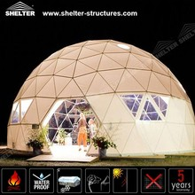Windproof Used Giant Dome Shaped Buildings For Party Events