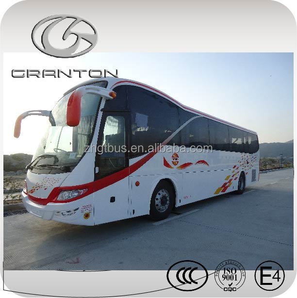 China 12m Euro 6 imported chassis bus LED light bus special price