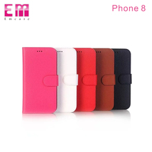 PU leather Litchi grain Protective Cover Phone Case for iphoneX