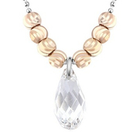 16646 dubai costume jewelry crystal from swarovski necklace gift set for women