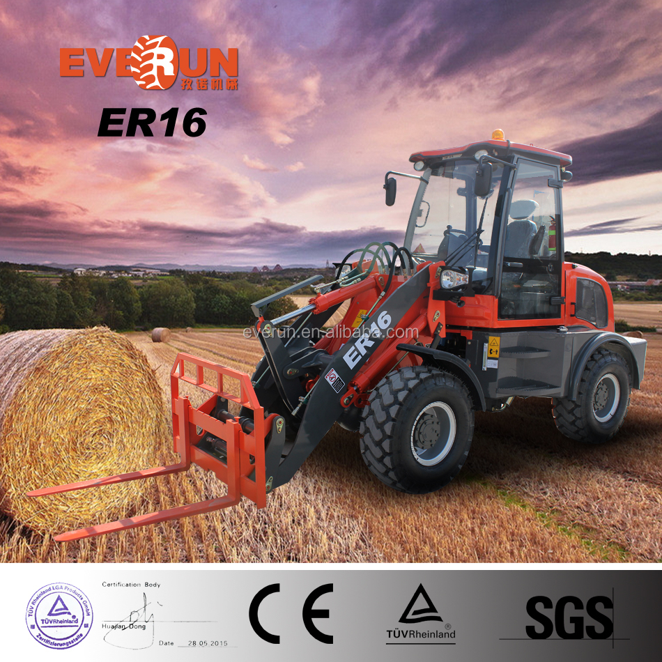 Europe new condition E-mark seat CE/EPA quick hitch tipping mini loader aie brake for sale