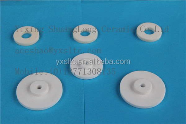 High quality Al2O3 ceramic coffee grinder ceramic insulation plate textile ceramic spare parts