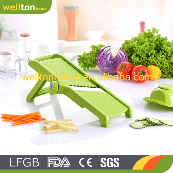 LFGB approval customer color vegetable slicer mandoline