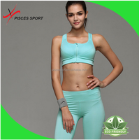 anti-static cotton sports genie bra front closure wholesale