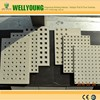 Wellyoung perforated gypsum board VS Knauf perforated gypsum board