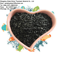 Coagulation - activated carbon adsorption method coconut shell button food grade activated carbon