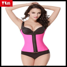 export South Africa sell well Latex Waist Cincher corselet Shapewear/girdle,sexy colombian slimming waist trainer corset/belt