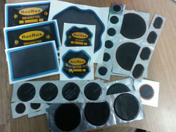 Radial tire patch, bias tire patch, tire tube repair patch