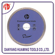Circle sintered round diamond saw blade/diamond cutting disc for glass