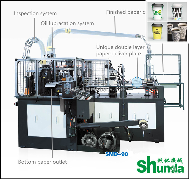 jbz a12 automatic paper cup machine to make disposable paper cup