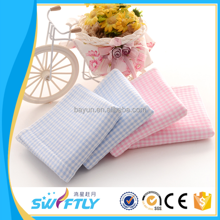 China manufacturer 25*50cm 45g baby cotton towel