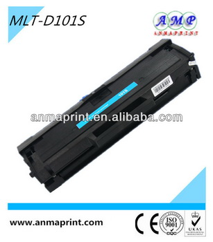 China manufacturer of office supply laser printer cartridge toner MLT-D101S compatible toner cartridge for Samsung printer