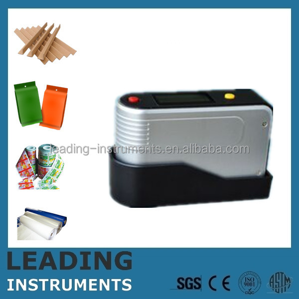 Medium gloss paint ISO 2813 test instruments LEADING INSTRUMENTS