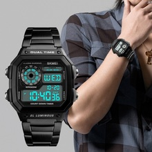 New Arrival Skmei 1335 Multifunction Analog Digital Luminous Promotional Sports Watch Man