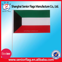 Kuwait Mini National Flag Custom Hand Held Flag