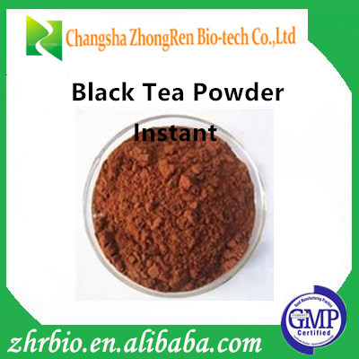 100% Natural Excellent quality instant Black Tea Powder Extract