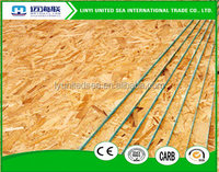 Oriented Strand Boards(OSB)Slab Structure and Indoor Usage white melamine particle board osb3 plywood