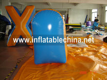 QIQI inflatables inflatable bunkers paintball set for sport games use