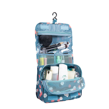 New fashion ripstop Portable Hanging Organizer Bag Foldable Cosmetic Makeup Case Storage Traveling Toiletry Bags