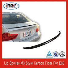 FIT FOR BMW 3 SERIES E90 M3 TYPE CARBON FIBER REAR TRUCK SPOILER