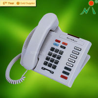 2 single line Hotel Phone guestroom phone