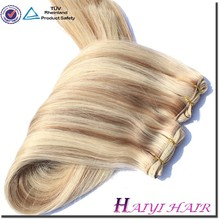 2016 Double Weft Double Drawn Top Quality Factory Wholesale Unprocessed Weft Sealer For Hair Extensions